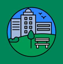 Green City Icon